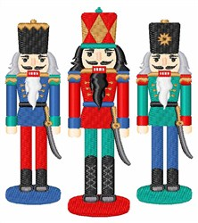 Nutcracker Figures embroidery design