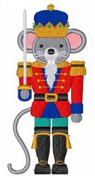 Nutcracker Mouse embroidery design