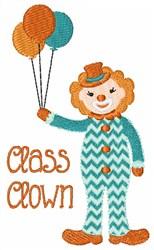 Class Clown embroidery design