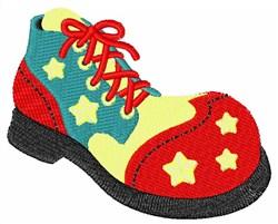 Clown Shoe embroidery design