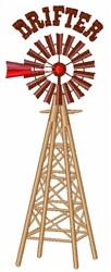 Drifter Windmill embroidery design