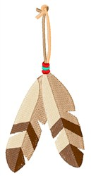 Eagle Feathers embroidery design