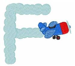 Airplane Smoke F embroidery design