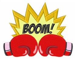 Boom Boxing embroidery design