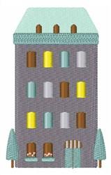 Urban Hotel embroidery design
