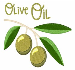 Olive Oil embroidery design