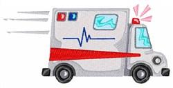 Fast Ambulance embroidery design