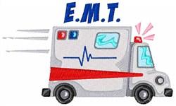 EMT Vehicle embroidery design