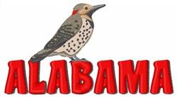 Alabama embroidery design