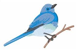 Mountain Bluebird embroidery design
