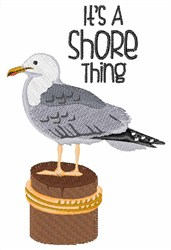 A Shore Thing embroidery design