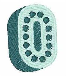 Bingo Dots 0 embroidery design