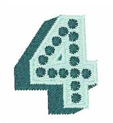 Bingo Dots 4 embroidery design