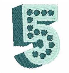 Bingo Dots 5 embroidery design