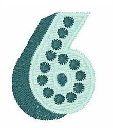 Bingo Dots 6 embroidery design