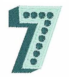 Bingo Dots 7 embroidery design