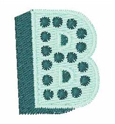 Bingo Dots B embroidery design