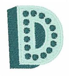 Bingo Dots D embroidery design