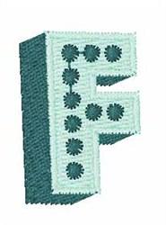 Bingo Dots F embroidery design