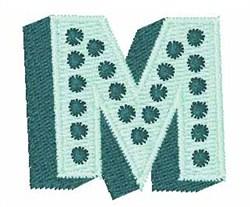 Bingo Dots M embroidery design
