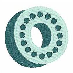 Bingo Dots O embroidery design