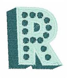 Bingo Dots R embroidery design