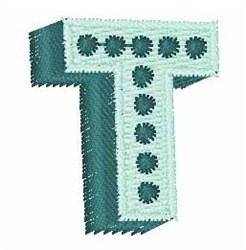 Bingo Dots T embroidery design