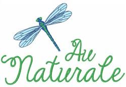 Au Naturale embroidery design