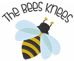 The Bees Knees embroidery design