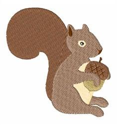 Squirrels Acorn embroidery design