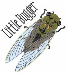 Little Bugger embroidery design