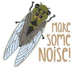 Make Noise! embroidery design