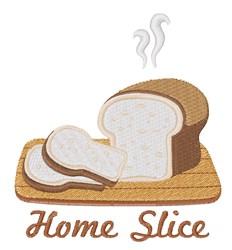 Home Slice embroidery design