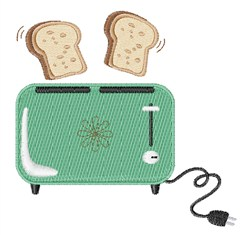 Electric Toaster embroidery design