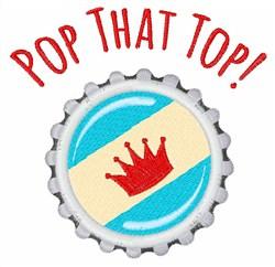 Pop Top embroidery design