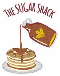 Sugar Shack embroidery design