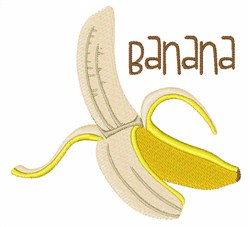 Banana Fruit embroidery design
