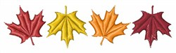 Maple Leaves embroidery design