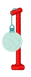 Christmas Holiday Font 1 embroidery design