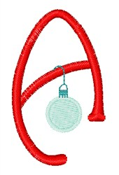 Christmas Holiday Font A embroidery design