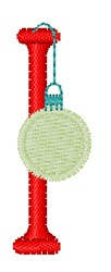 Christmas Holiday Font I embroidery design