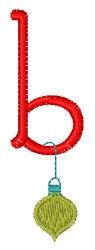 Christmas Holiday Font b embroidery design