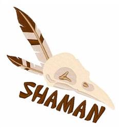 Shaman embroidery design