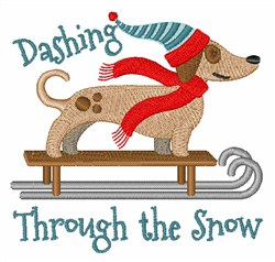 Dashing Through The Snow Designs For Embroidery Machines