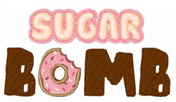 Sugar Bomb embroidery design