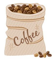 Coffee Sack embroidery design
