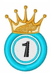 Bingo King 1 embroidery design
