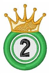 Bingo King 2 embroidery design