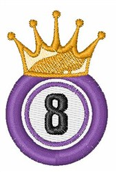 Bingo King 8 embroidery design