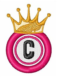Bingo King C embroidery design